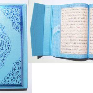 Quran - türkischer Style hellblaues Cover