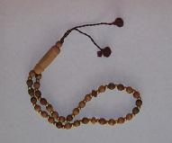 Gebetskette (Tasbih) - Holz