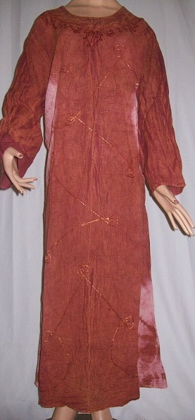 Langes Frauenkleid M