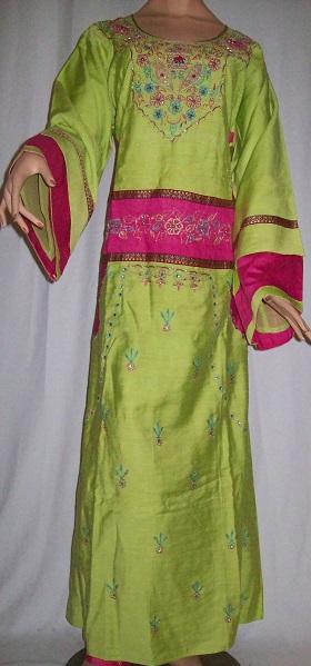 Arabisches Frauenkleid XL