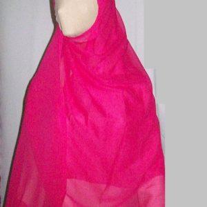 Schal/Kopftuch in rosa (Chiffon)