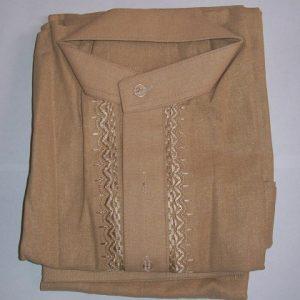 Schalwar-Qamis, braun 20