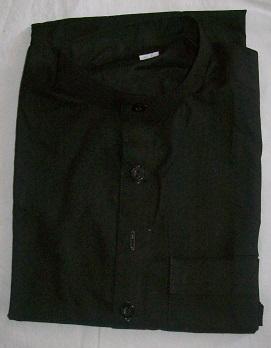 Schalwar Qamis, schwarz 26