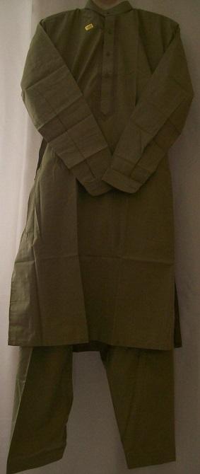 Schalwar Qamis, grün 30