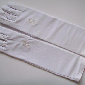 Stretch-Handschuhe weiß