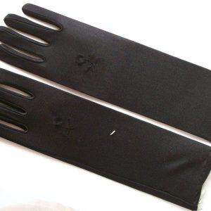Stretch-Handschuhe schwarz