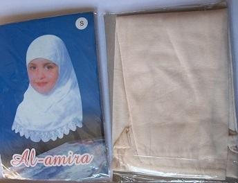 Al-Amira  Kopftuch - bis 6 Jahre - besch