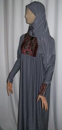 Abaya - grau
