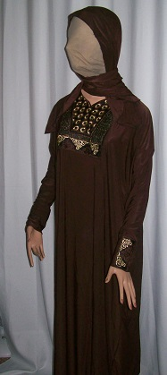 Abaya - braun