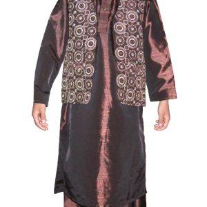 festlicher Salwar Kameez mit Weste Größe 24