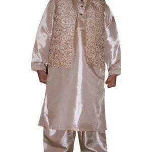 festlicher Salwar Kameez mit Weste Größe 22
