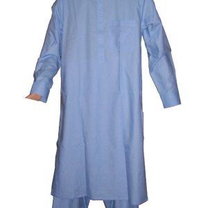 Salwar Kameez himmelblau  Größe S