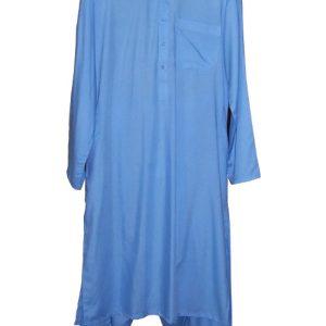 Schalwar Qamis, himmelblau XL