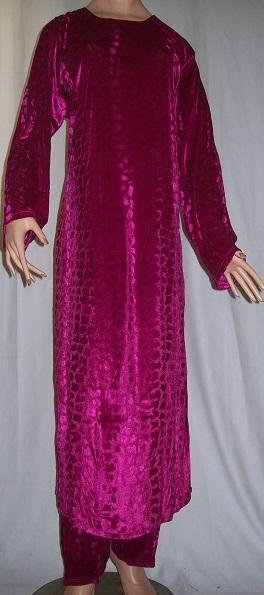 Jalabiya arabisches Frauenkleid - Für die kalte Jahreszeit