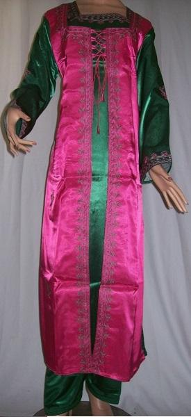 Jalabiya arabisches Frauenkleid mit Stickerei L