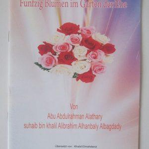 Fünfzig Blumen im Garten der Ehe