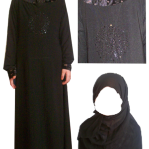 Abaya - 95cm Länge