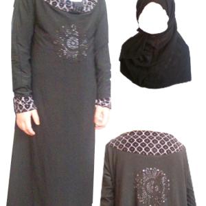 Abaya - 95 cm Länge