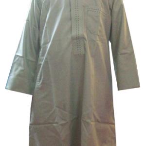 Qamis nach arabischer Art für Jungen(grau), Jalabiya, Galabiya
