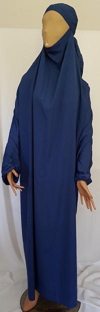 Jilbab - Königsblau