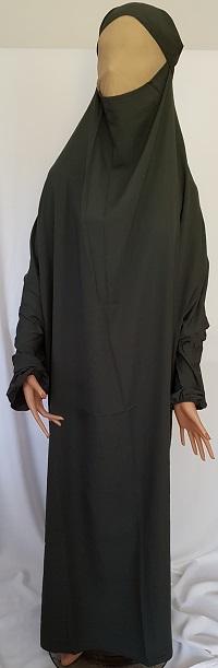 Jilbab - Khaki