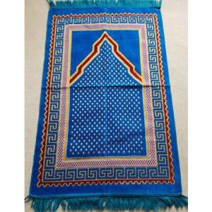 Gebetsteppich blau