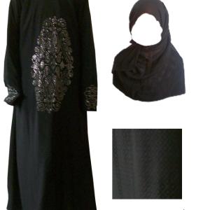 Abaya - 110 cm Länge