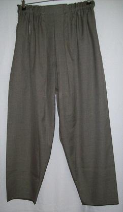Türkischer Schalwar - grau (Größe 3)