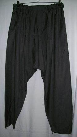 Türkischer Salvar - schwarz (Größe 2)
