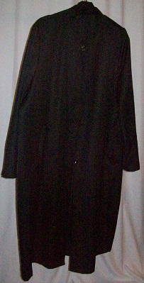 Jubba/Mantel nach türkischer Art- Größe 4 schwarz