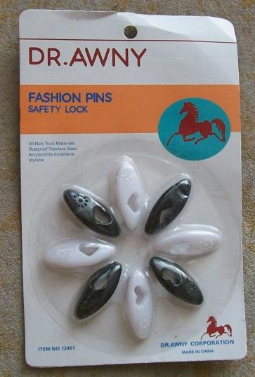 8X Kopftuch Sicherheitsnadeln