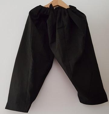 Schalwar - schwarz